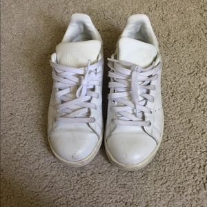 Adidas Superstar All White Size 7